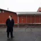 Mayor Pete Buttigieg looks around at Farmers Market in South Bend, Indiana.
