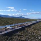 Hyperloop One test track in Nevada