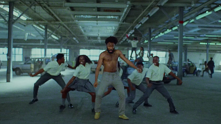A still from Childish Gambino's 'This Is America'