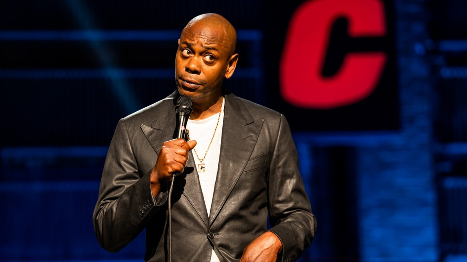 """Dave Chappelle in his latest Netflix special, """"The Closer"""""""