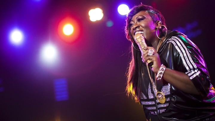 Missy Elliott performs in 2010.