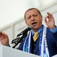 Turkish President Tayyip Erdogan delivers a speech on May 26, 2017.