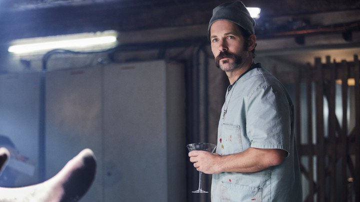 A still from 'Mute,' featuring Paul Rudd