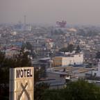 Panoramic view of Ciudad Nezahualcoyotl.