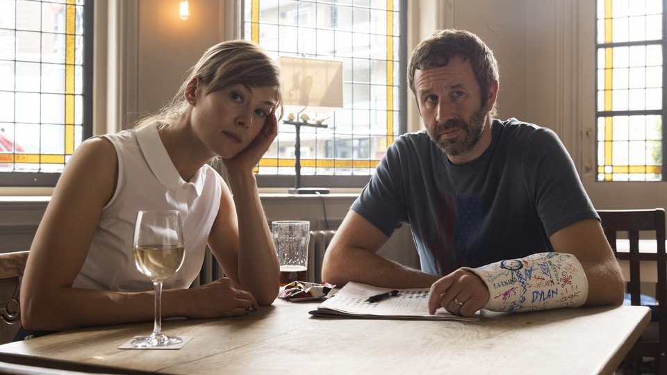 Rosamund Pike and Chris O'Dowd in SundanceTV's 'State of the Union'
