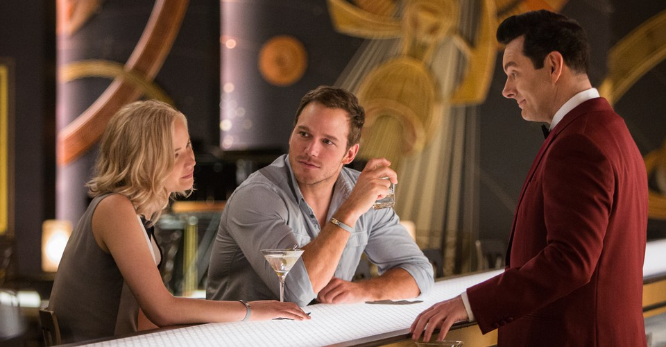 Review Passengers Starring Jennifer Lawrence Is A Journey Best Skipped The Atlantic Passengers