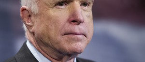 This is a picture of John McCain's face.