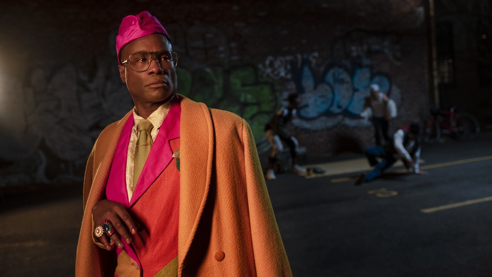 """Billy Porter as Pray Tell in the final season of """"Pose"""""""