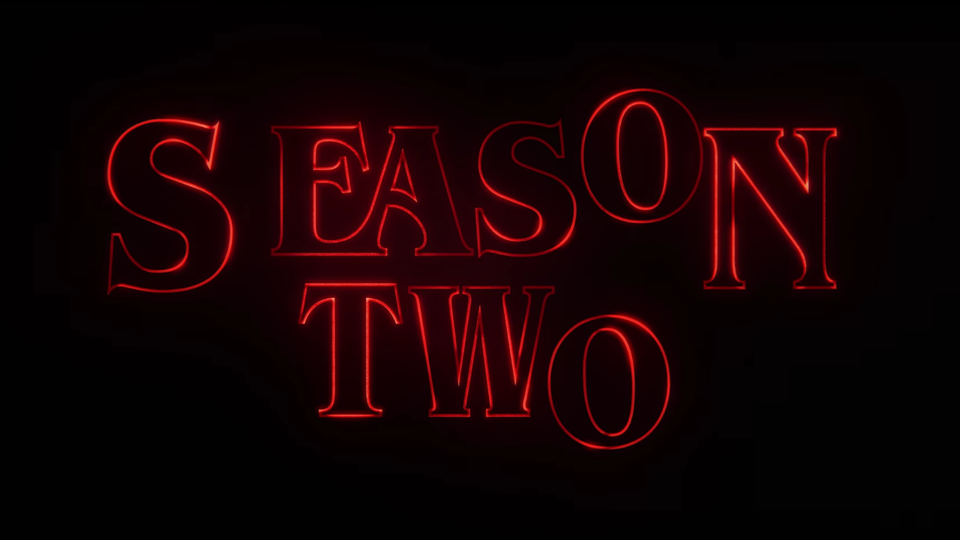 The Strange Things 2 trailer