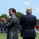 Mark Esper and Donald Trump