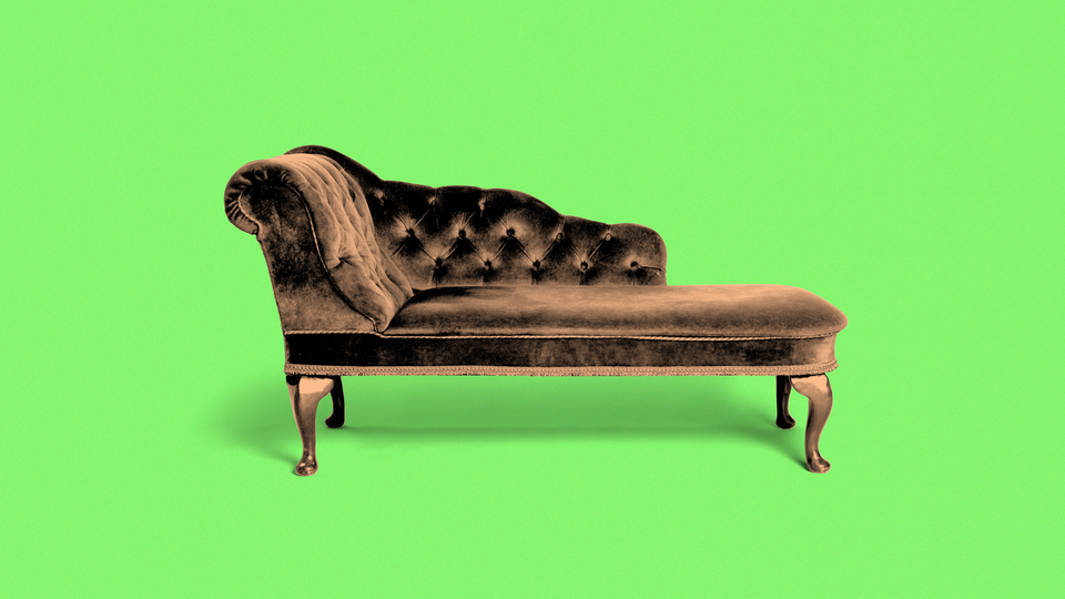 A therapist's couch