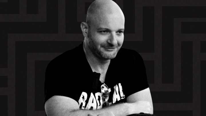 Christopher Cantwell speaks to a Vice News reporter.
