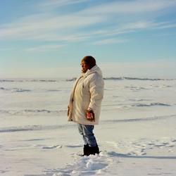 Josephine Tatauq Bourdon, a 30-year veteran teacher, in Nome, Alaska