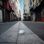photo: A deserted street 