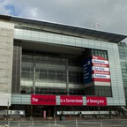 A photo of the Newseum in Washington, D.C.