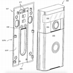 A diagram of the facial recognition doorbell from Amazon's patent application.