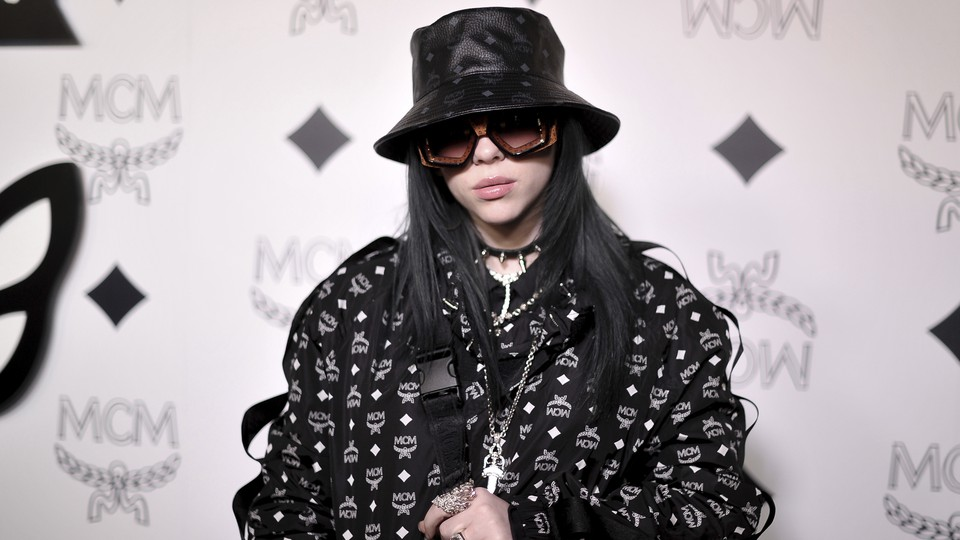 Billie Eilish attends the MCM Rodeo Drive grand opening on March 14, 2019, in Beverly Hills, California.