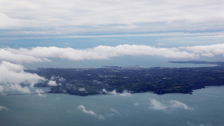 A view of Jersey in the Channel Islands