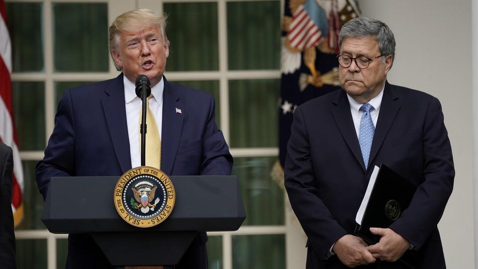 Donald Trump and Bill Barr