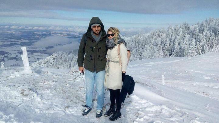 Julia Pichl and Javad Ganjkhanloo