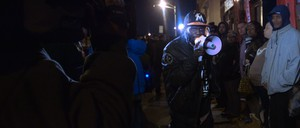 """Baltimore activist Genard """"Shadow"""" Barr speaks out against police violence in the HBO documentary """"Baltimore Rising"""""""