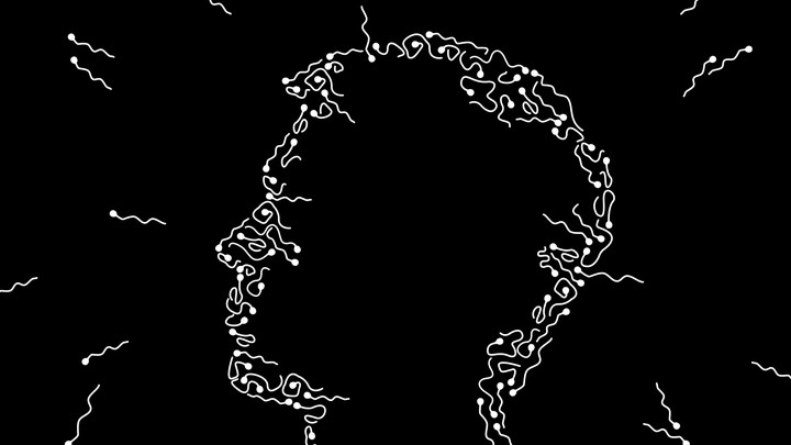 Illustration of a man's silhouette