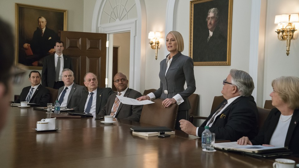 An image from 'House of Cards' Season 6