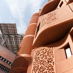 photo: Masdar City in Abu Dhabi