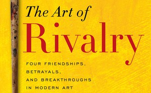 Cover to 'The Art of Rivalry' by Sebastian Smee