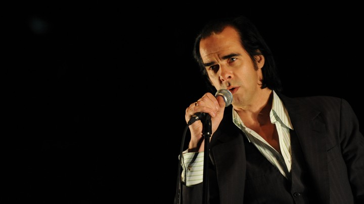 Nick Cave performs at Southside Festival in Germany, 2009.