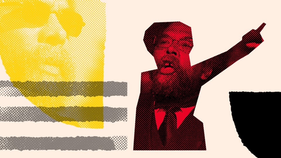 The professor Cornel West is featured with colorful graphic imagery.