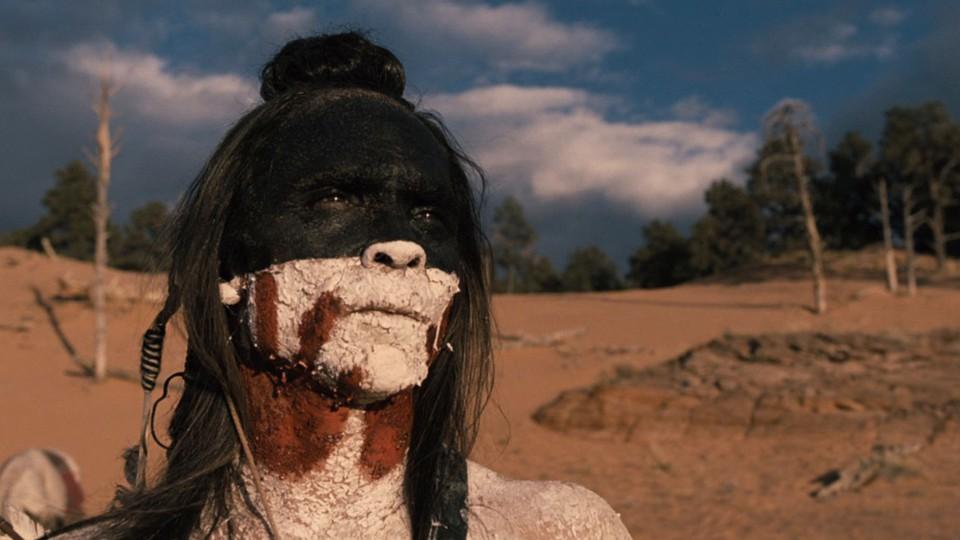 A still from the 'Westworld' episode 'Kiksuya'