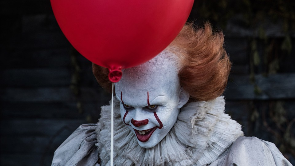 Pennywise the clown from the newest adaptation of Stephen King's 'It'