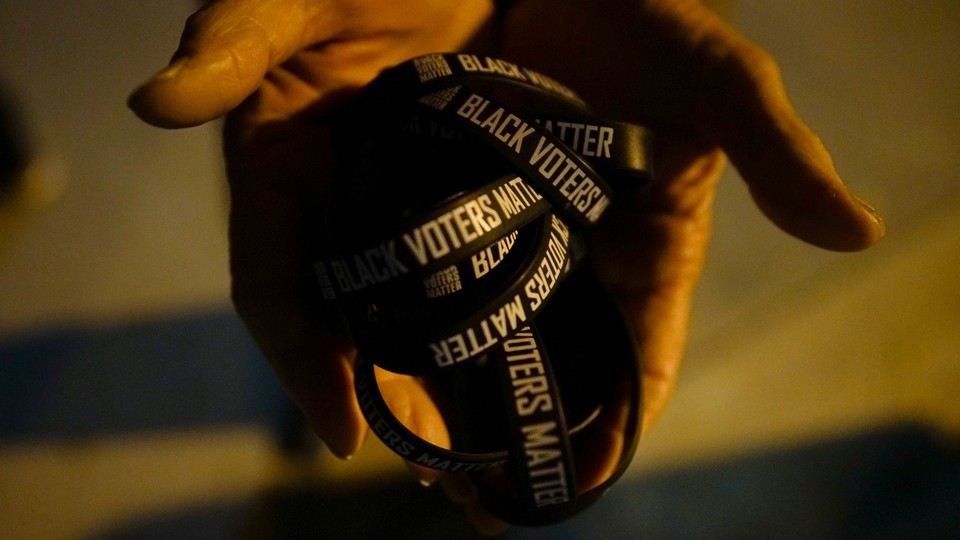 Black Voters Matter wristbands