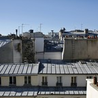 photo: rooftops in Paris, France