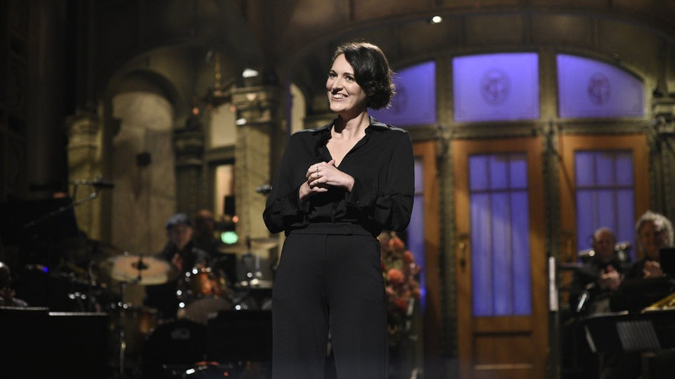 Phoebe Waller-Bridge spent much of her 'SNL' monologue talking about her Emmy-winning series 'Fleabag.'