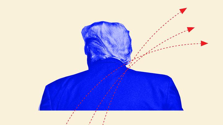 An illustration of Donald Trump