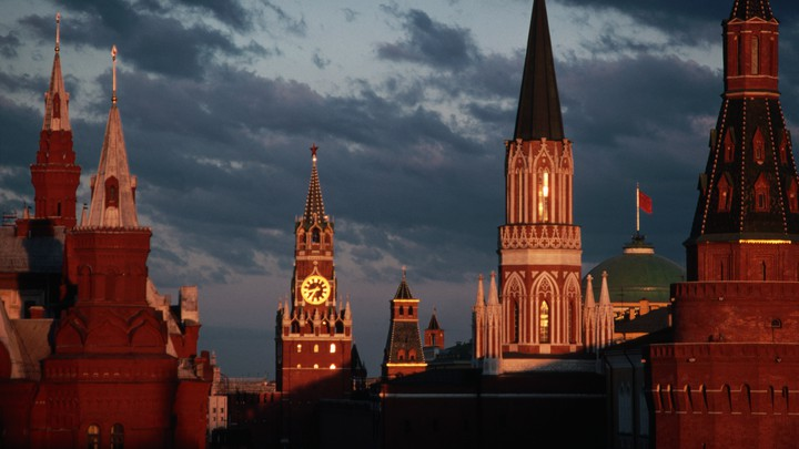 Moscow's Kremlin towers