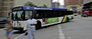 A Milwaukee County Transit System bus.