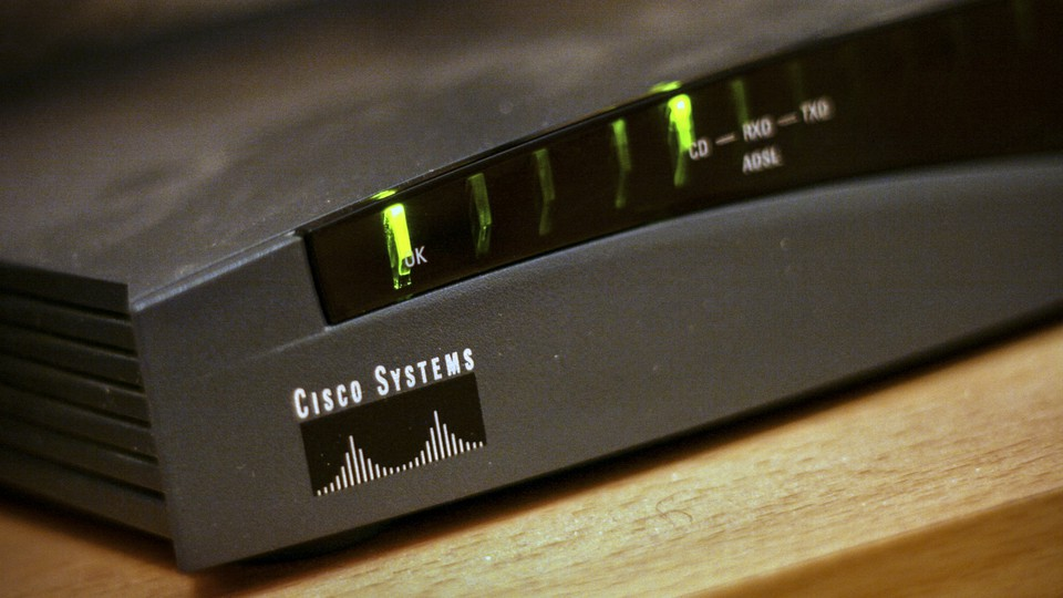 A wireless router