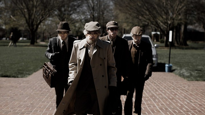 The four main characters of 'American Animals'