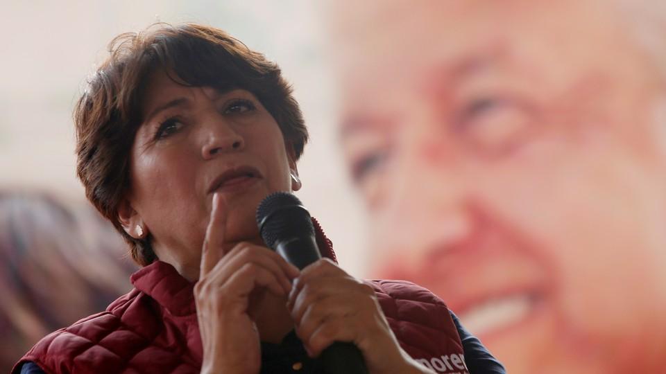 Delfina Gómez of the National Regeneration Movement (MORENA)