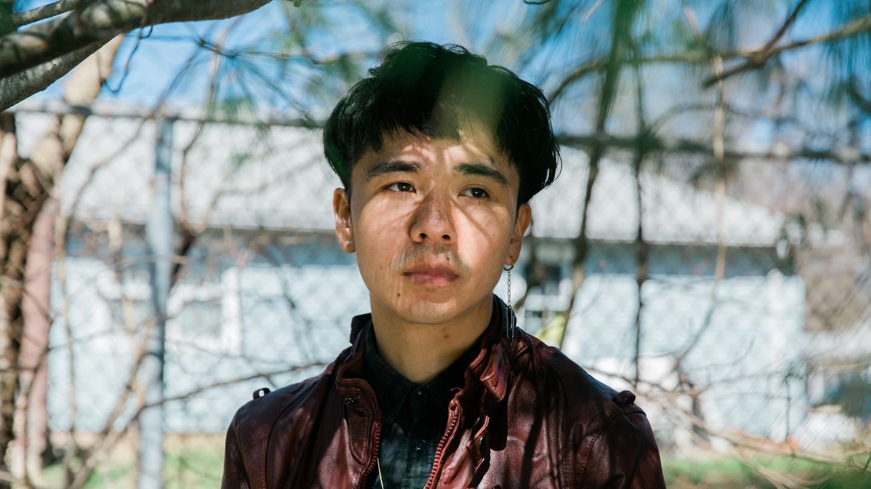 A portrait of Ocean Vuong