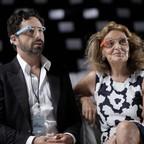 Sergey Brin and Diane von Furstenberg