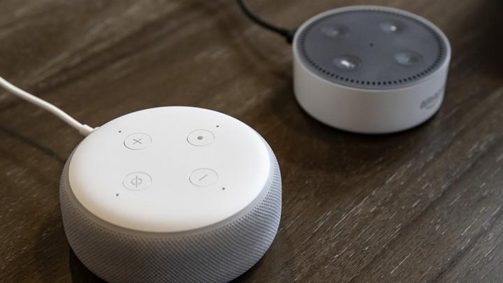 Two Amazon Echoes