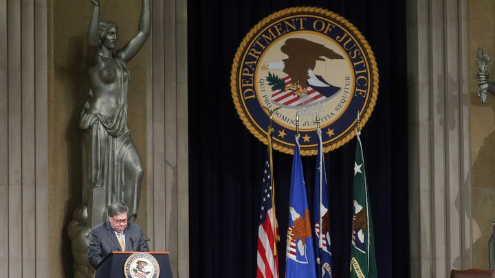 William Barr at the Justice Department