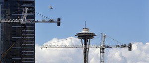 a photo of construction in Seattle