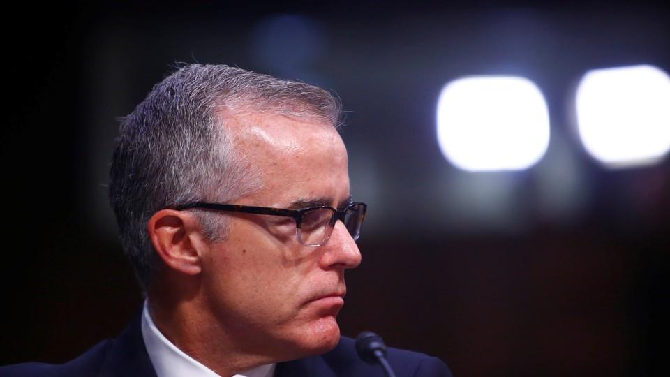 Retiring FBI Deputy Director Andrew McCabe