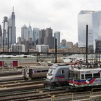 SEPTA trains in Philadelphia