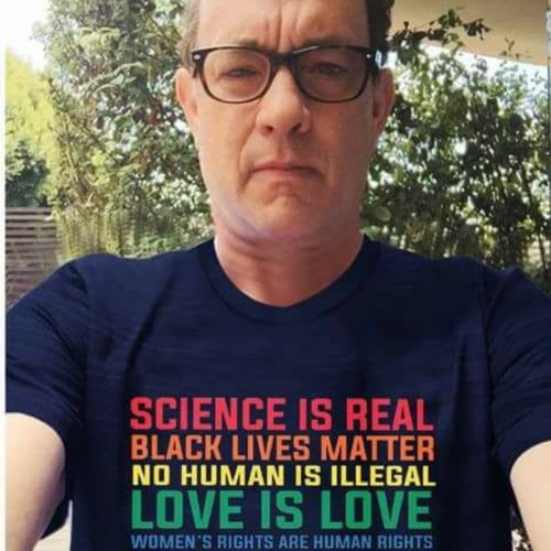 Not My President Tom Hanks Science Is Real Black Lives Matter Anti Trump T Shirt